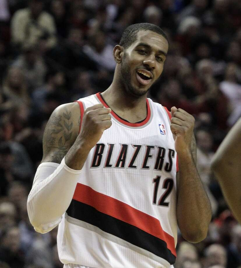 20. LaMarcus Aldridge  Team: Portland Trail Blazers  Position: Power forward/Center  Money owed this season: $14,878,000 Photo: Don Ryan, Associated Press