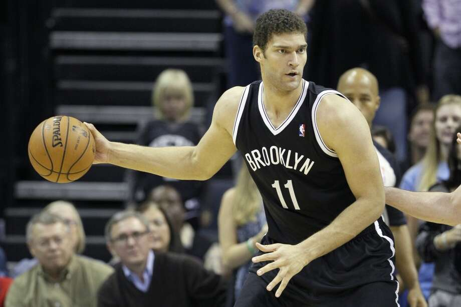 23. Brook Lopez  Team: Brooklyn Nets  Position: Center  Money owed this season: $14,693,906 Photo: Danny Johnston, Associated Press