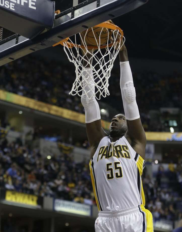 27. Roy Hibbert  Team: Indiana Pacers  Position: Center  Money owed this season: $14,283,844 Photo: Darron Cummings, Associated Press