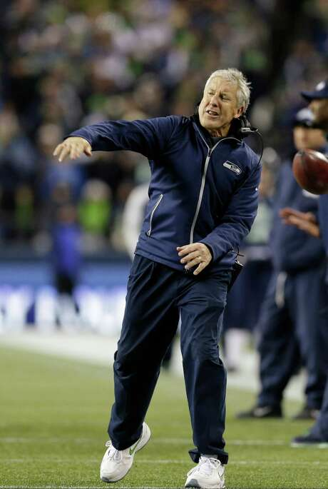 The Seahawks' Pete Carroll is an example of a coach succeeding in the NFL after being fired earlier. Photo: Elaine Thompson, STF / AP