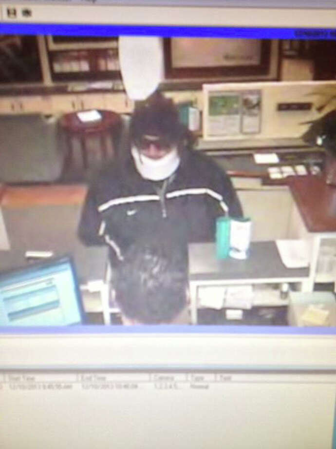 A photo released by Stamford police showing a man who they believe robbed a bank on Hope Street on Dec. 10. Photo: Contributed Photo / Connecticut Post Contributed