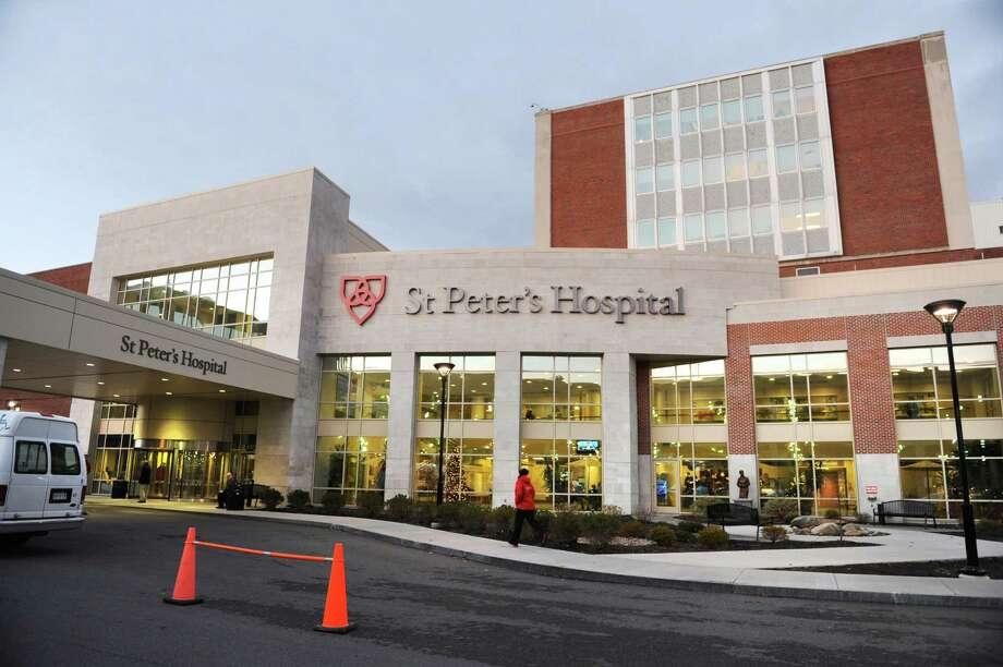 Exterior of St. Peter's Hospital Tuesday, Dec. 11, 2012, in Albany, N.Y.  (Lori Van Buren / Times Union) Photo: Lori Van Buren