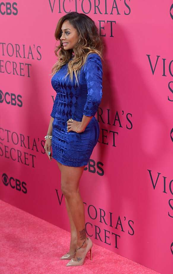 NEW YORK, NY - NOVEMBER 13:  LaLa Anthony attends the 2013 Victoria's Secret Fashion Show at Lexington Avenue Armory on November 13, 2013 in New York City.  (Photo by Stephen Lovekin/Getty Images) Photo: Stephen Lovekin, Getty Images