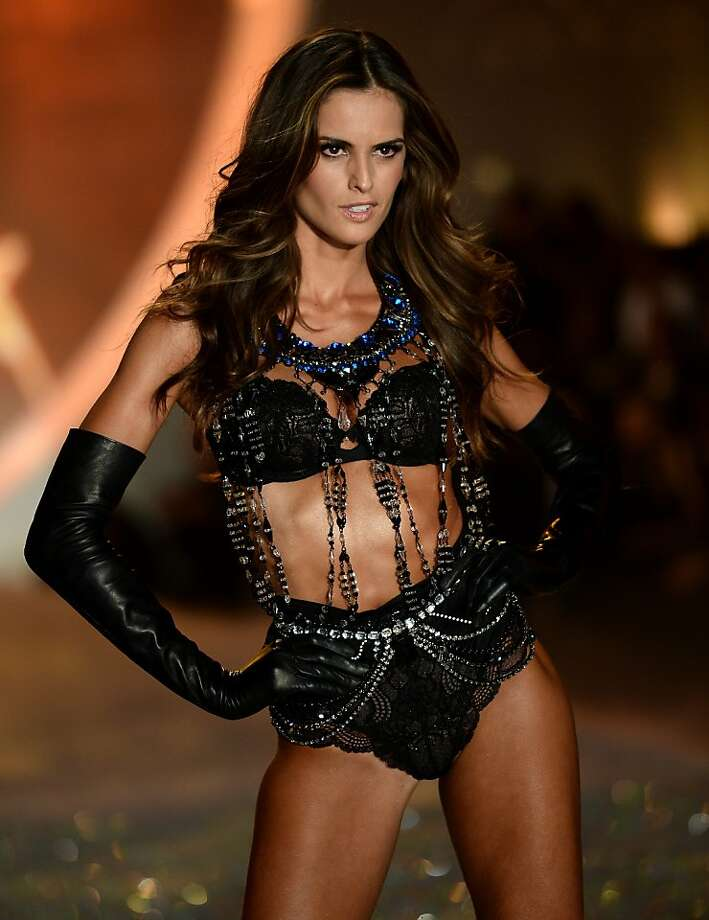 NEW YORK, NY - NOVEMBER 13: Model Izabel Goulart walks the runway at the 2013 Victoria's Secret Fashion Show at Lexington Avenue Armory on November 13, 2013 in New York City.  (Photo by Dimitrios Kambouris/Getty Images for Victoria's Secret) Photo: Dimitrios Kambouris, (Credit Too Long, See Caption)