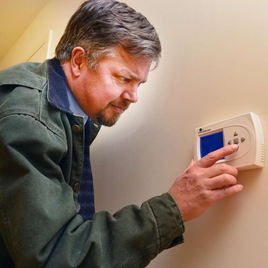 You have to remember how to adjust your thermostat. Photo: John Carl D'Annibale, Albany Times Union