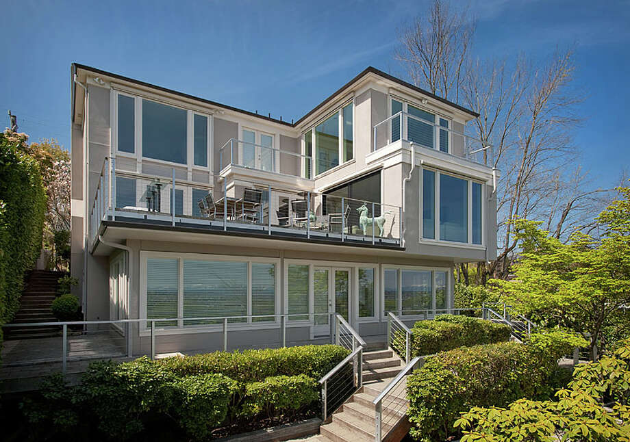 Back view.  Photos via MLS/Listing courtesy of  Realogics Sotheby's Int'l Rlty