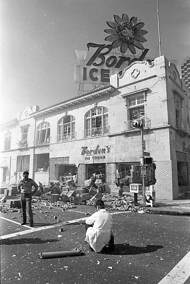 Borden's Ice Cream plant. Photo: John Everett, Houston Chronicle / Houston Chronicle