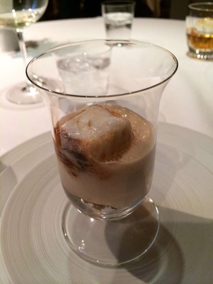 The French Laundry version of a root beer float