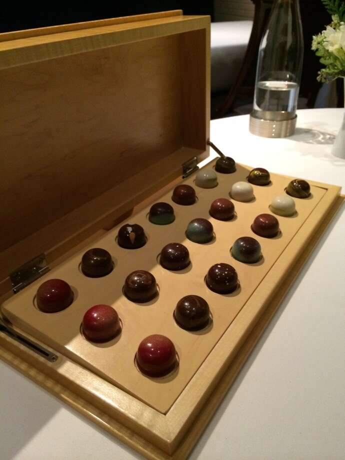 The chocolate service