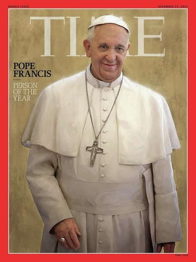 Pope Francis is TIME magazine's Person of the Year for 2013. Photo: Time Magazine