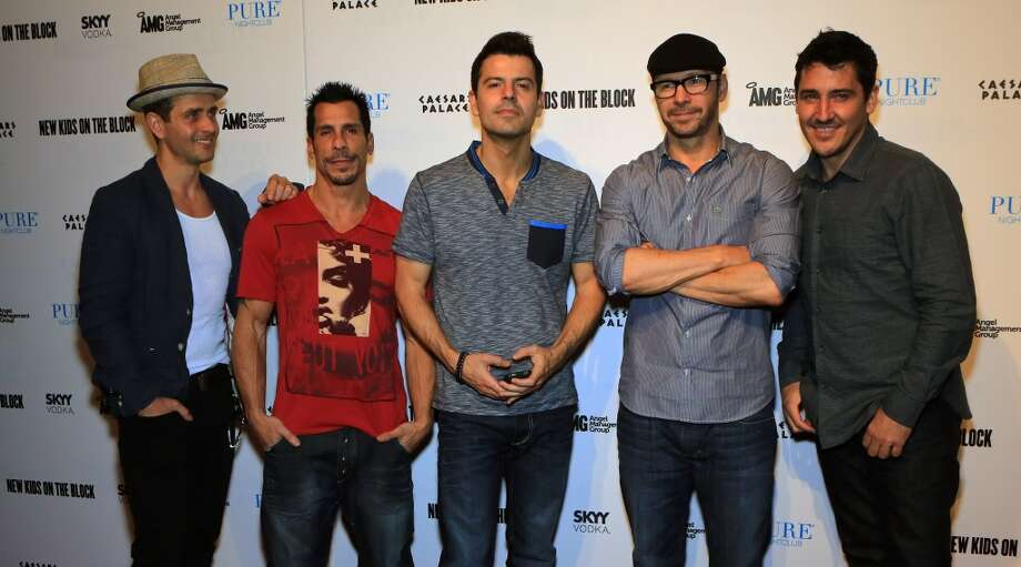 Boy bands. This is the age when middle school boy-band fans finally have the independent income to buy their own concert tickets, Clark notes. Smart men from New Kids on the Block and 'N SYNC banked on it. So did the next generation (See: One Direction, The Wanted). Here, Joey McIntyre, Danny Wood, Jordan Knight, Donnie Wahlberg and Jonathan Knight of NKOTB attend their after-concert party in Las Vegas in July. Photo: Gabe Ginsberg, FilmMagic