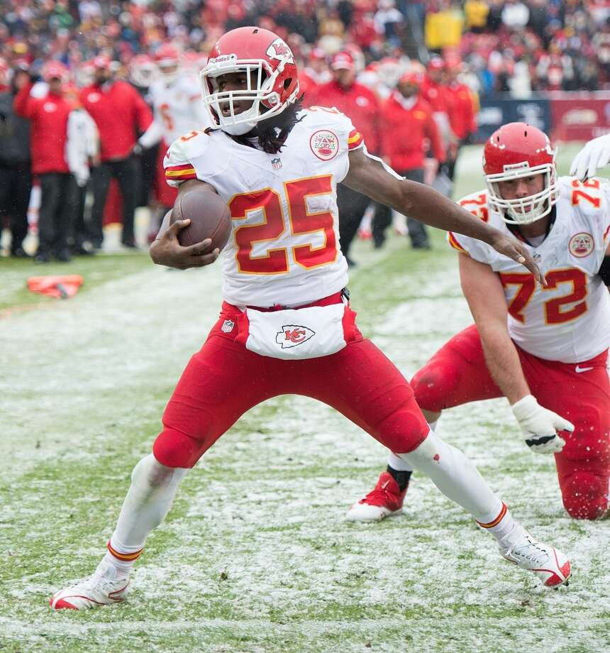7. Chiefs (10-3) Last week: 8  Tied 1963 Raiders and 1975 Colts for 3rd-most victories by a team that won 2 or fewer games the previous season. Photo: Harry E. Walker, MCT