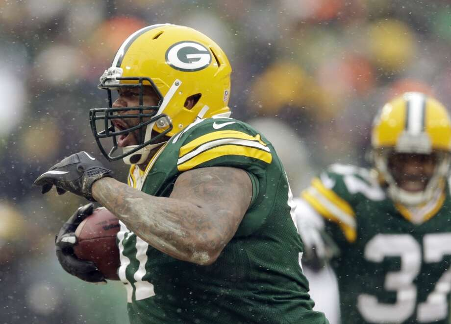 17. Packers (6-6-1) Last week: 20Rookie RB Eddie Lacy has rushed for a TD in 6 of his last 8 games. He set a team record with 7 rushing TDs. Photo: Tom Lynn, Associated Press