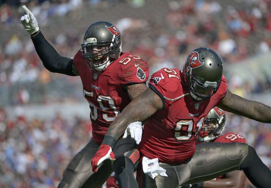 24. Buccaneers (4-9) Last week: 24Bucs have won 4 of 5, but last 3 foes – San Francisco, St. Louis and New Orleans – are a combined 24-15. Photo: Phelan M. Ebenhack, Associated Press