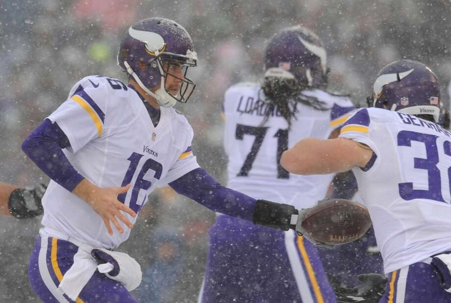 27.Vikings (3-9-1) Last week: 27  Vikings have 2 former