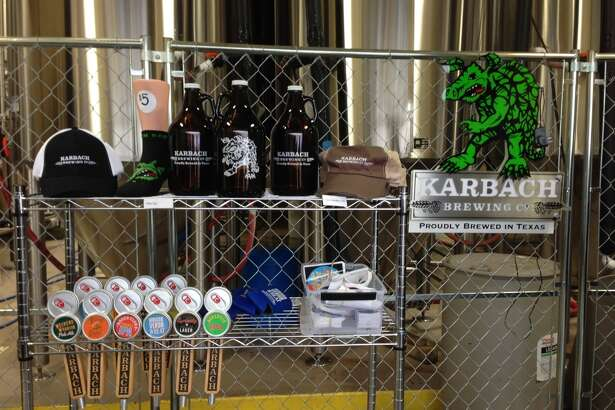 Whittle your gift list and support a local brewery at the same time. Karbach Brewing is among those with a swag area open during tours and tastings.