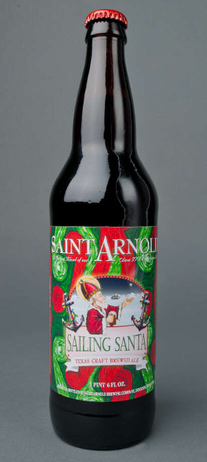 Winter brings a bounty of festive seasonal releases great for sharing. I picked up a 22-ounce bottle of Saint Arnold Sailing Santa - a blend of Elissa IPA and the brewery's annual Christmas Ale -- at Whole Foods Market, 701 Waugh. Photo: Saintarnold.com