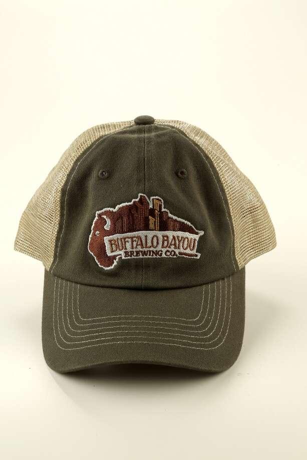A Buffalo Bayou ballcap would commemorate a trip to the brewery. Photo: Karen Warren, Houston Chronicle
