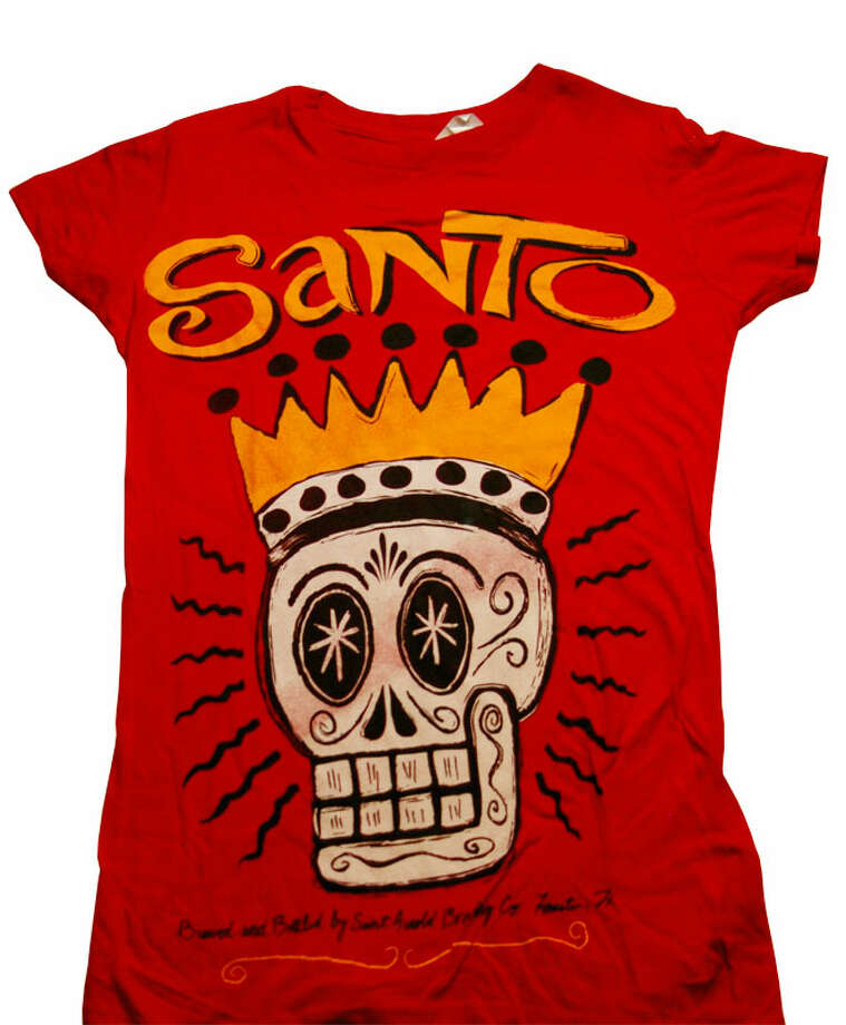 Ladies' Santo T-shirt from Saint Arnold Brewing Co. Available online at saintarnold.com/shop for $18. Photo: Saintarnold.com