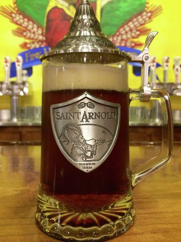 This $45 stein from Saint Arnold drew a lot of attention on the brewery's Facebook page. Look for it at the brewery, 2000 Lyons. Photo: Courtesy, Saint Arnold Brewing Co.