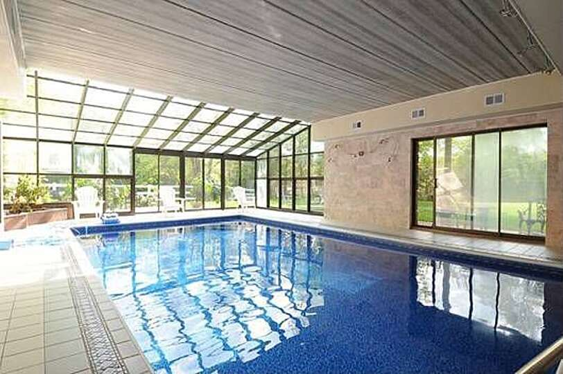 Newtown This Home With An Indoor Pool Is On The Market