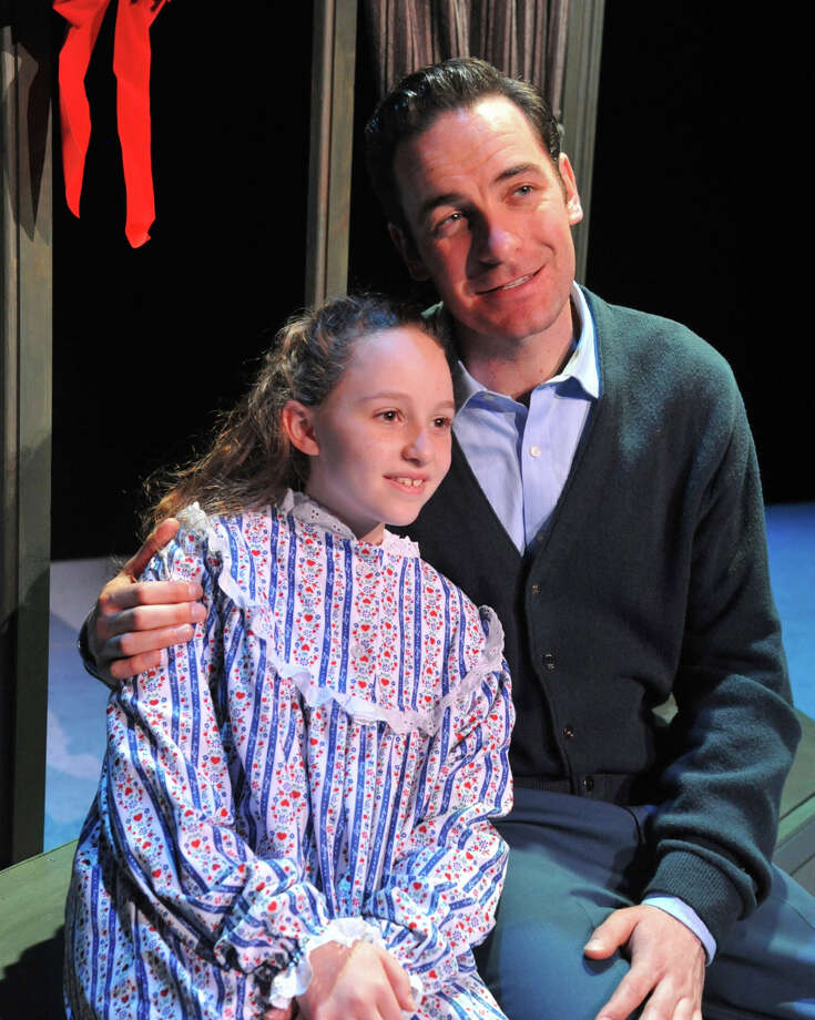 "Nicole Kolitsas (as Susan Waverly)  and Sean Montgomery (as Bob Wallace) appear in ""White Xmas"" at Westchester Broadway Theatre. Photo: Contributed Photo/John Vecchioll, Contributed Photo / The News-Times Contributed"