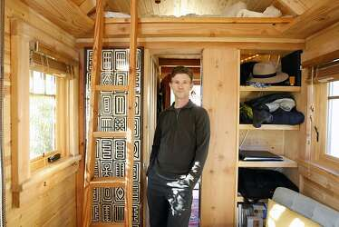 Small-house movement: Living in 120 square feet - SFGate on home designers, knitting designers, building designers, tiny houses on wheels,
