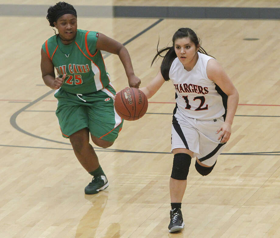 Mikki Flores leads her team in scoring with an average of 17.6 points. Photo: Marvin Pfeiffer / Primetime Newspapers