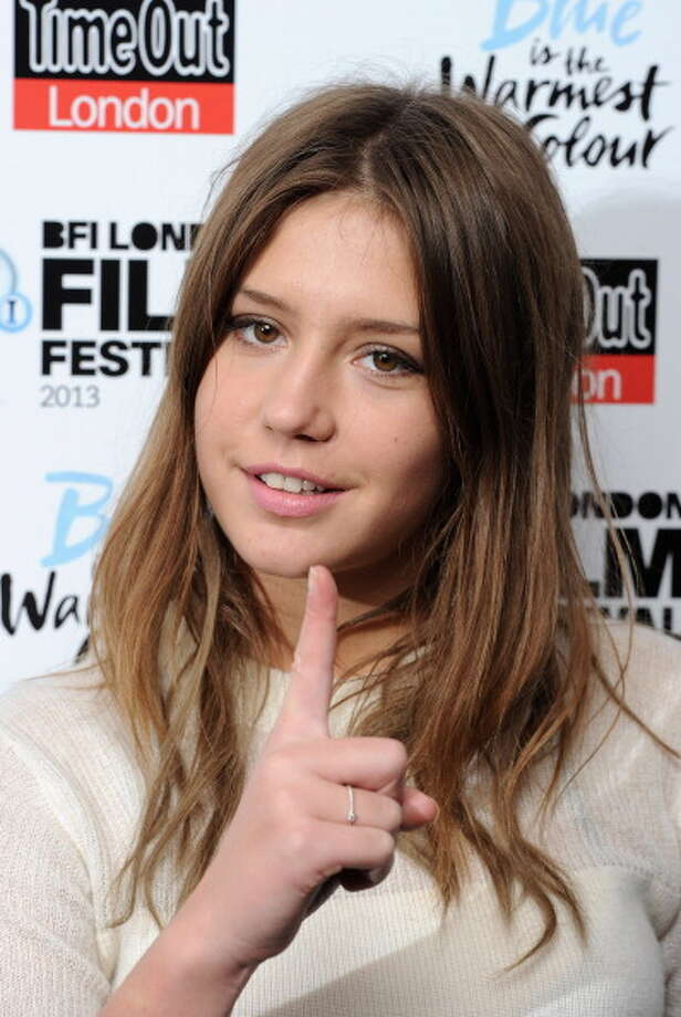 "LONDON, ENGLAND - OCTOBER 14:  Adele Exarchopoulos attends the screening of ""Blue Is The Warmest Colour"" Love Gala In Association With Timeout during the 57th BFI London Film Festival at Curzon Chelsea on October 14, 2013 in London, England.  (Photo by Eamonn M. McCormack/Getty Images for BFI) Photo: Eamonn M. McCormack / 2013 Getty Images"