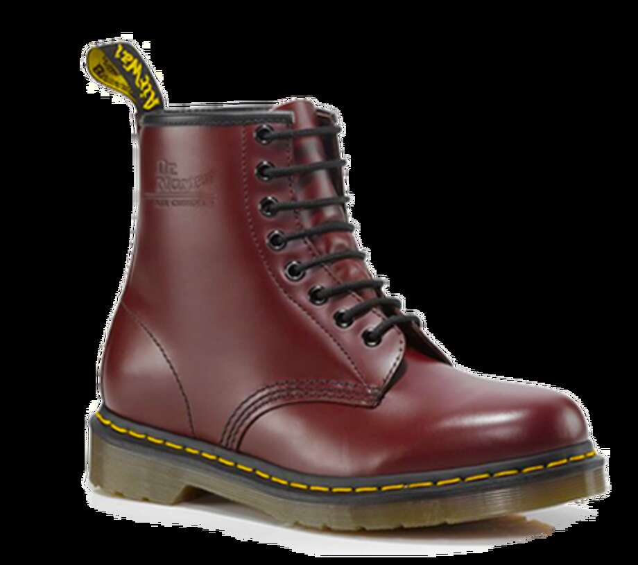 Combat Boots. These no-nonsense leather boots provide ample ankle support and grip for urban warriors navigating that concrete jungle—or just San Francisco's murky dating scene. Many favor the gender-neutral appeal of the classic Dr. Marten. Dr. Marten ($120) Photo: Dr. Marten