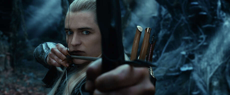 ORLANDO BLOOM as Legolas in New Line Cinema'ƒÙs and MGM's fantasy adventure 'ƒ?THE HOBBIT: THE DESOLATION OF SMAUG,'ƒ? a Warner Bros. Pictures release. Photo: Courtesy Of Warner Bros. Picture / © 2013 Warner Bros. Entertainment Inc. and Metro-Goldwyn-Mayer P