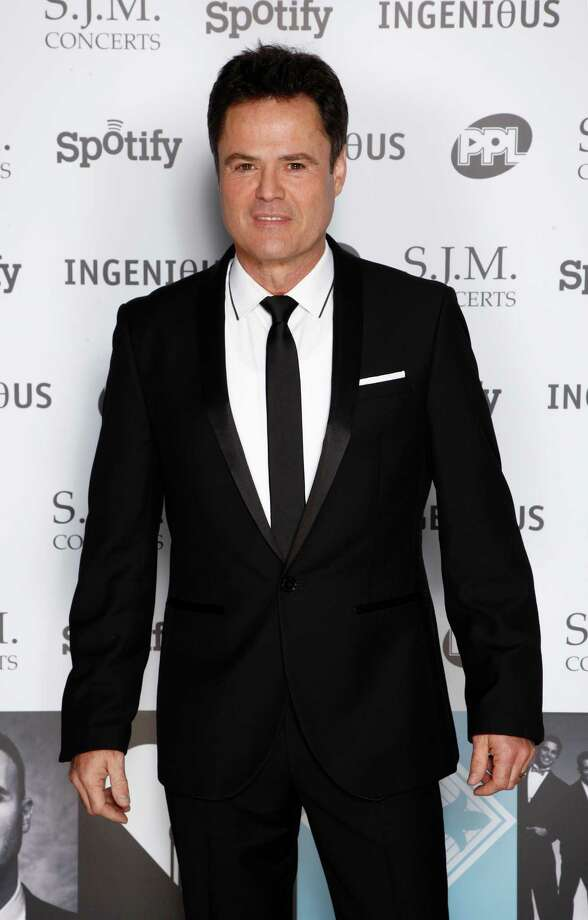 Donny Osmond arriving at the 2012 Music Industry Trusts Award ceremony at the Grosvenor House Hotel on Monday, Nov. 5, 2012, in London. (Photo by John Marshall JM Enternational/Invision/AP) Photo: John Marshall JM Enternational / Invision
