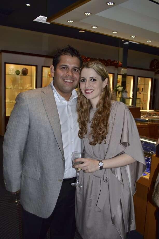 Carlos Valdez and Jennifer Rosenthal
