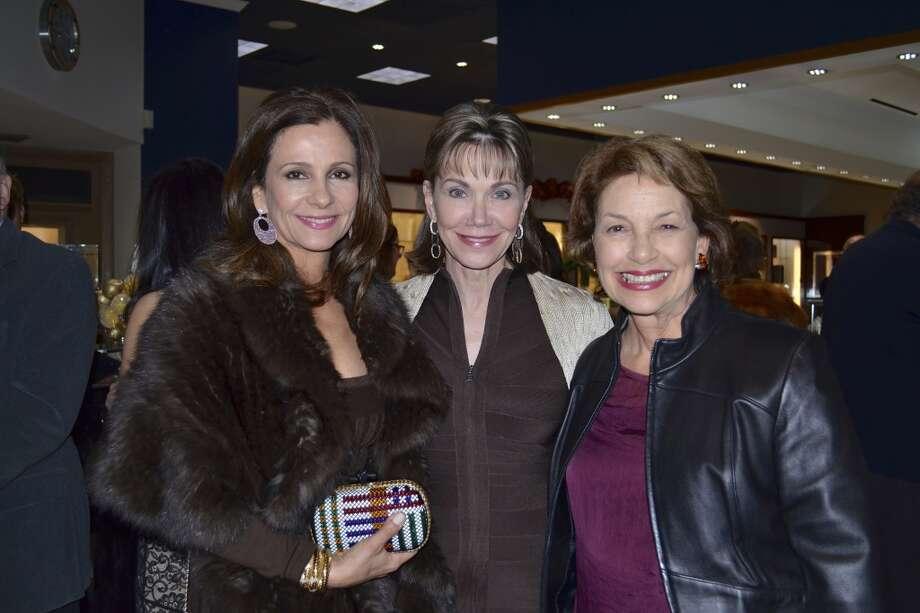 Martine Weitz, Antoinette Austin and Sharon Dryer