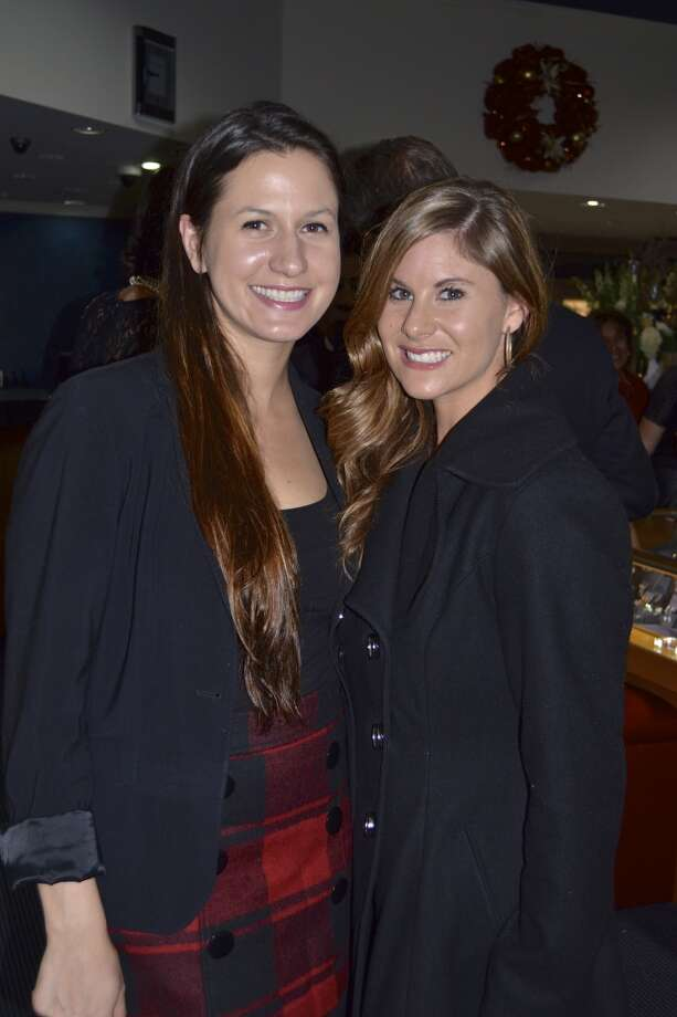 Olga Simkina and Jessica Palans