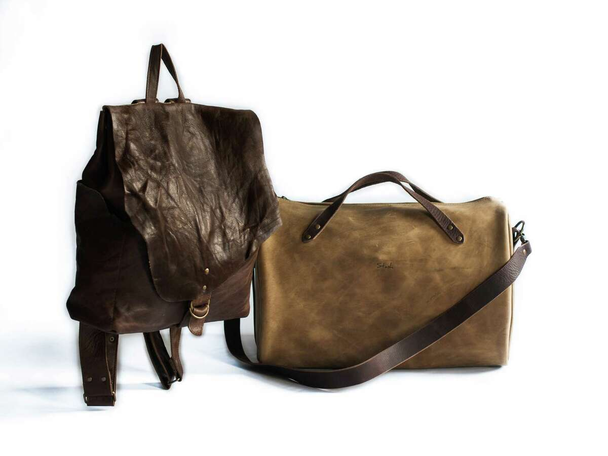 Stash & Co. has a beautiful assortment of handcrafted leather goods.