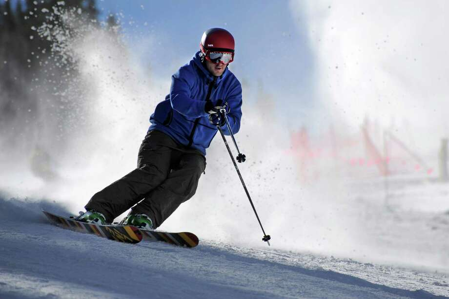Mountains mean snow and skiing. Colorado has lots of both. But they are, well, darn snotty about the whole thing as if snow and skiing elsewhere doesn't really count. Get over it. An accident of geology and meteorology is nothing to brag about. Photo: Jack Dempsey, HOEP / Colorado Ski Country USA