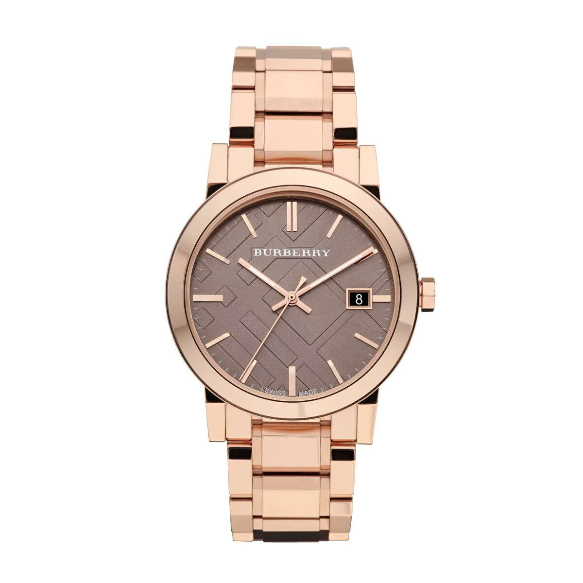 1 Burberry City watch in rose gold, $695 at Burberry and Nordstrom