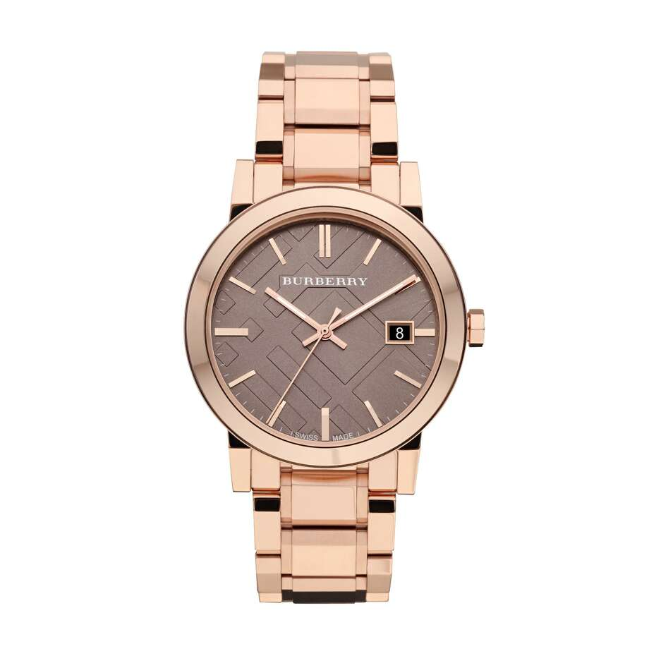 1 Burberry City watch in rose gold, $695 at Burberry and Nordstrom / ONLINE_YES