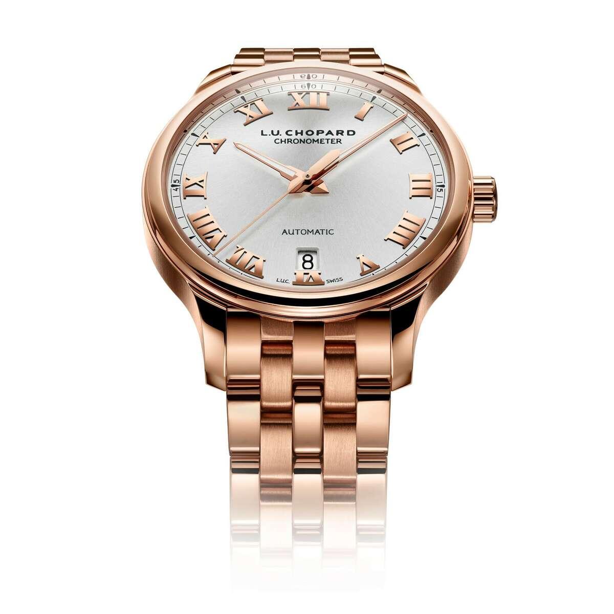 1 Chopard L.U.C 1937 Classic with rose gold bracelet, $38,500 at Zadok Jewelers