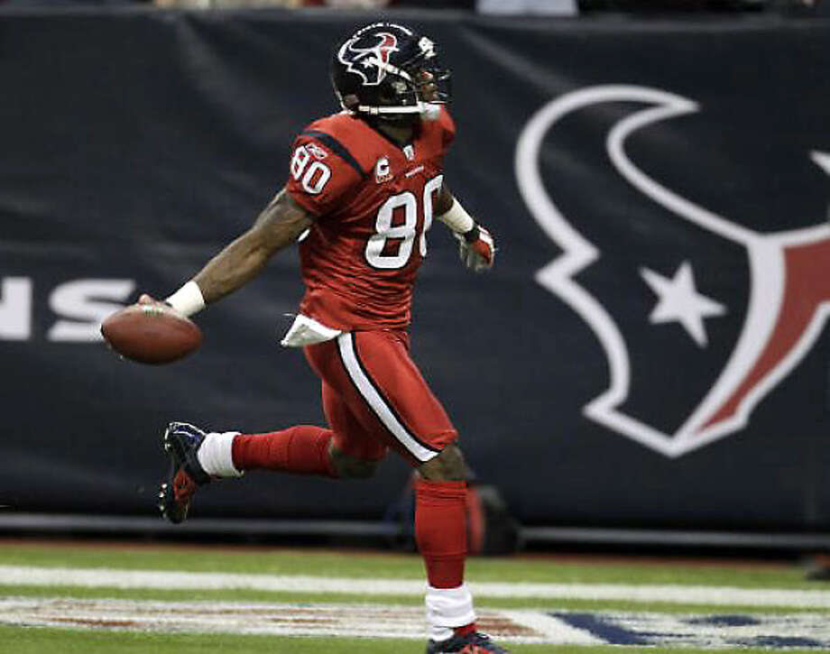 2010 Receiver Andre Johnson was voted to the Pro Bowl for the fifth time. Photo: Karen Warren, Chronicle