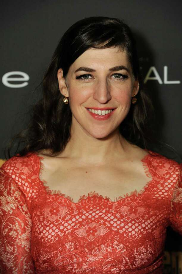 IMAGE DISTRIBUTED FOR ENTERTAINMENT WEEKLY - Mayim Bialik arrives at the 2013 Entertainment Weekly Pre-Emmy Party, presented by L'Oreal Paris and bebe at Fig & Olive on Friday, Sept. 20, 2013, in Los Angeles. (Photo by Jordan Strauss/Invision for Entertainment Weekly/AP Images) ORG XMIT: INVL Photo: Jordan Strauss / Invision