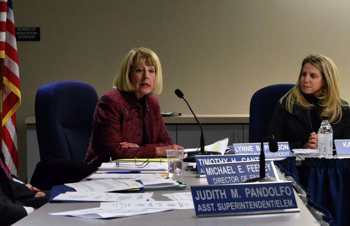 Dr. Lynne Pierson is currently serving as the interim superintendent while the Board of Education searches for a permanent superintendent.
