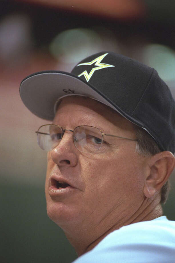 Houston Astros manager Larry Dierker  is pictured on Sept. 13, 1997, at the Astrodome in Houston.  Photo: Sporting News Archive, Sporting News Via Getty Images / www.iconsportsmedia.com