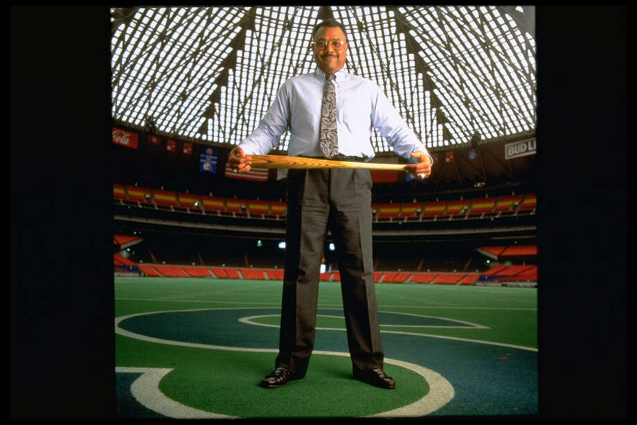 This picture shows Houston Astros GM Bob Watson alone in the Astrodome.  Photo: Pam Francis, Time & Life Pictures/Getty Image / Pam Francis