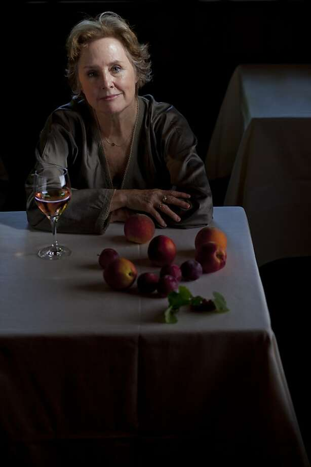 Forty years after first opening the doors at her pioneering restaurant, Alice Waters, owner of Chez Panisse, sits for a portrait in the main dining room on Thursday July 28, 2011 in Berkeley Calif. Photo: Mike Kepka, The Chronicle