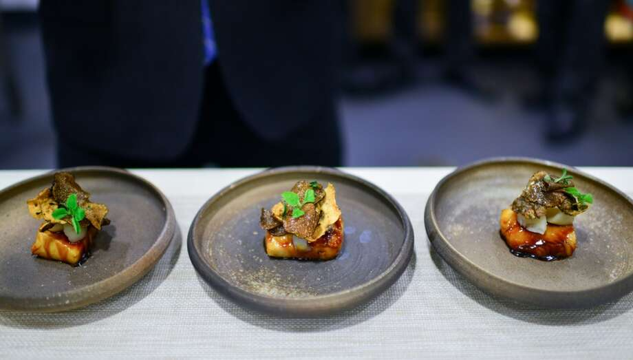 3rd Course: Cod, maple, sunchokes, truffle. Photo: Bonjwing Lee Photography
