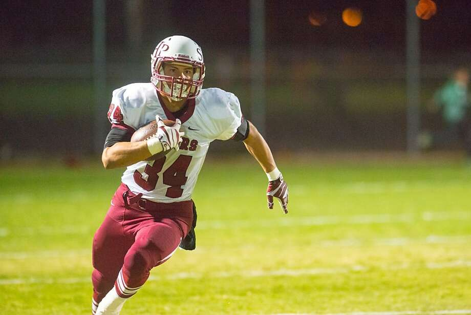 Andrew Segre rushed for 360 yards and six touchdowns against Pacific Grove. Photo: Courtesy Photo, Sacred Heart Prep