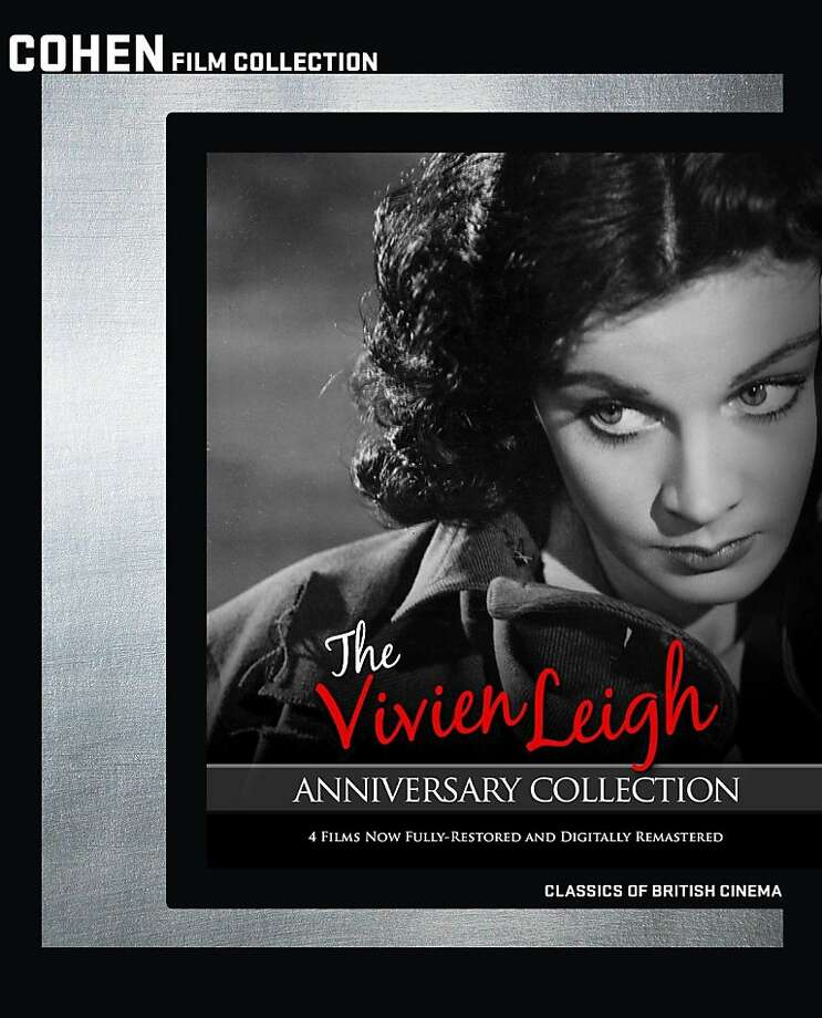 """DVD cover: """"The Vivien Leigh Anniversary Collection"""" Photo: Cohen Film Collection"""