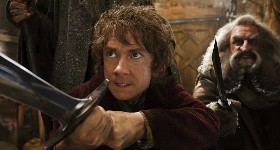"Martin Freeman (left) returns as Bilbo Baggins and John Callen is back as the dwarf Oin in Peter Jackson's ""The Hobbit: The Desolation of Smaug."" Photo: Warner Bros. Pictures / Warner Bros. Pictures"